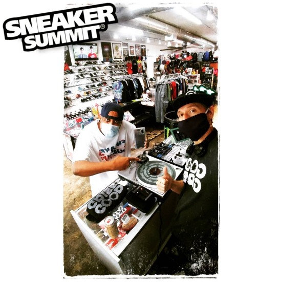 djgoodgrief djoakcliff sneakersummit instore may 2020